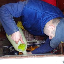 Hivernage moteur, stockage du circuit eau de mer au liquide 4 saisons, mise hors gel