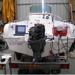 Diagnostique moteur hors-bord  Yamaha, contrôle de l'ECM ou Calculateur